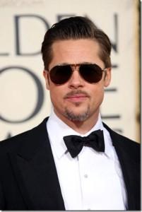 Brad Pitt rád nosí motýlky na všechny večerní akce